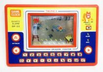 Tronica (Game-Clock & Calculator) - Handheld Game - Dragon Fighter (DF-22)