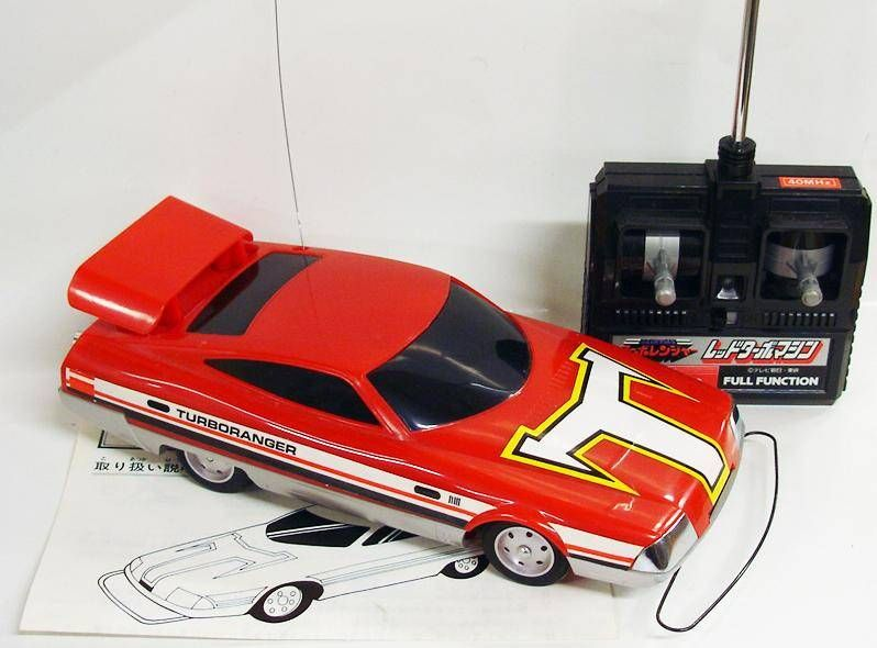 Turbo Ranger - Bandai - Radio-Controlled Red Turbo Machine
