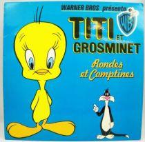 Titi et Grosminet (rondes & comptines) - Disque 33T - WEA 1979 01