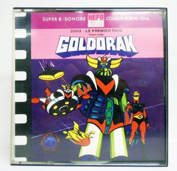 goldorak bobine film super 8 sonore editions hefa 39 39 le premier raid 39 39. Black Bedroom Furniture Sets. Home Design Ideas