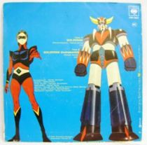 UFO Robo Grendizer Original French TV series Soundtrack - Mini-LP Record - CBS 1978