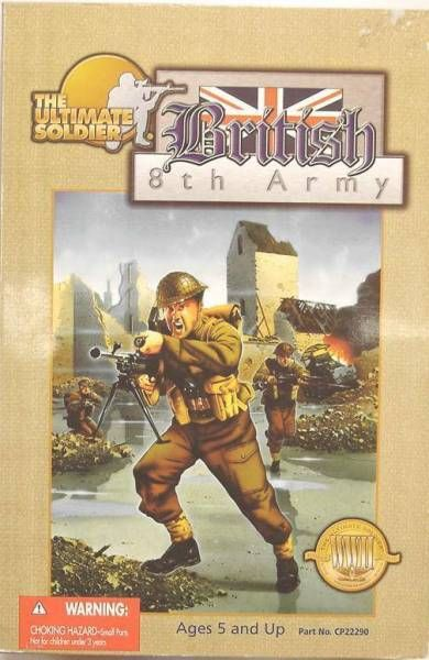 Ultimate Soldier - WW2 British 8th Army