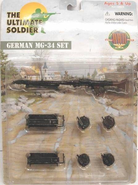 Ultimate Soldier - WW2 German MG-34 set