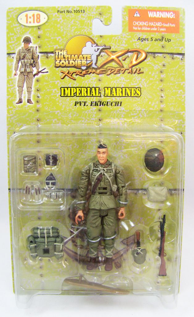 Ultimate Soldier XD - Imperial Marines - Pvt. Ekiguchi