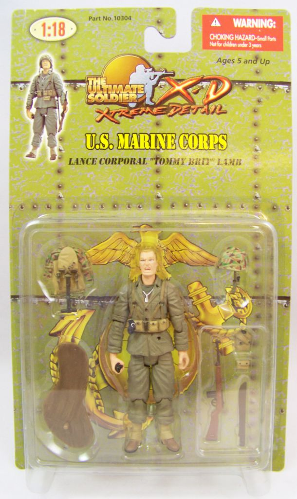 "Ultimate Soldier XD - U.S. Marine Corps - Lance Corporal ""Tommy Brit\"" Lamb"