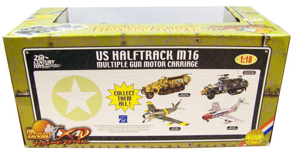 Ultimate Soldier XD - WWII U.S.Halftrack M16 Multiple Gun Motor Carriage