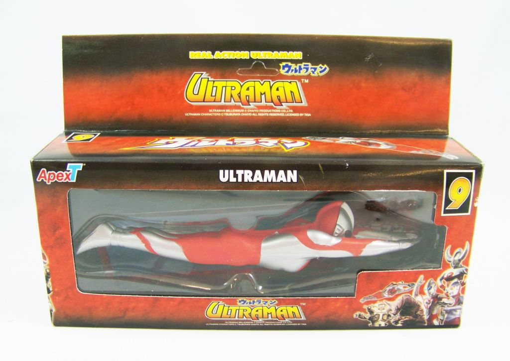 Ultraman - Apex Toys Real Action Ultraman Series n°9 - Ultraman volant 01