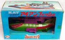 Ultraman Taro - Bulmark 1973 - ZAT Ironfish Submarine (mint in box)