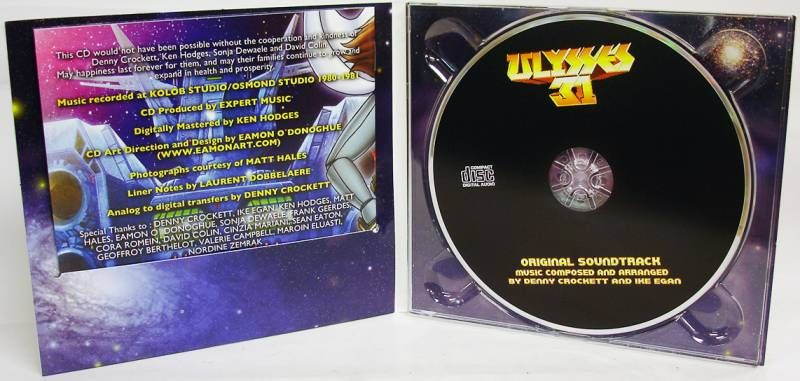 Ulysse 31 - Disque CD - Bande Originale série TV, par D. Crockett & I. Egan