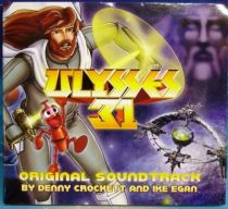 Ulysses 31 - Compact Disc - Original Soundtrack  By D. Crockett & I. Egan - Radmus Publishing.