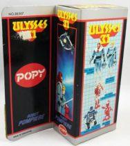 Ulysses 31 - Fireman-Robot - Popy Italy / Bandai UK