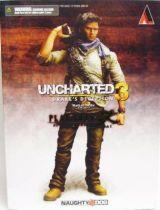 Uncharted 3 - Nathan Drake - Play Arts Kai Action Figure - Square Enix