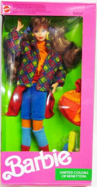 United Colors of Benetton Teresa - Mattel 1990 (ref.9407)