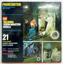Universal Studios Monsters - Frankenstein - Talking View-Master Reels (GAF) Mint in Scelled Box