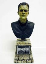 Universal Studios Monsters - Sideshow Collectibles - Resine Mini-Bust - Frankenstein (Boris Karloff - 1931)