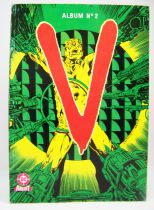 V (les Visiteurs) - BD Aredit 1985 - Album n°2