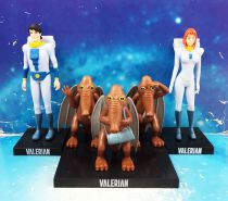 Valerian - Dargaud PVC figures - Valerian, Laureline and Shingouz