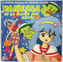 Vanessa et la Magie des Rêves - Disque 45Tours - Bande Originale Série Tv - Disques Ades 1988