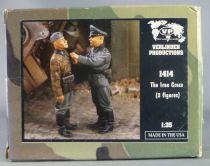 Verlinden Productions - 1414 WW2 German Iron Cross 2 Figurines Résine 1/35