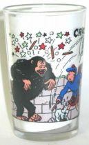 Verre à moutarde Amora Tintin L\'ile Noire