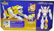 Voltron - Mattel - Yellow Lion & Hunk