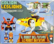 Voltron - Popy - Golion Green & Golion Yellow DX (loose with box)
