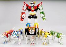 Voltron (GoLion) - Mattel - Lion Force complete set