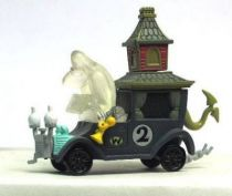 Wacky Races - Gashapon - The Gruesome Twosome (Big Gruesome & L\\\'il Gruesome) in the Creepy Coupe