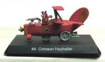 Wacky Races - Gashapon - The Red Max in the Crimson Haybailer