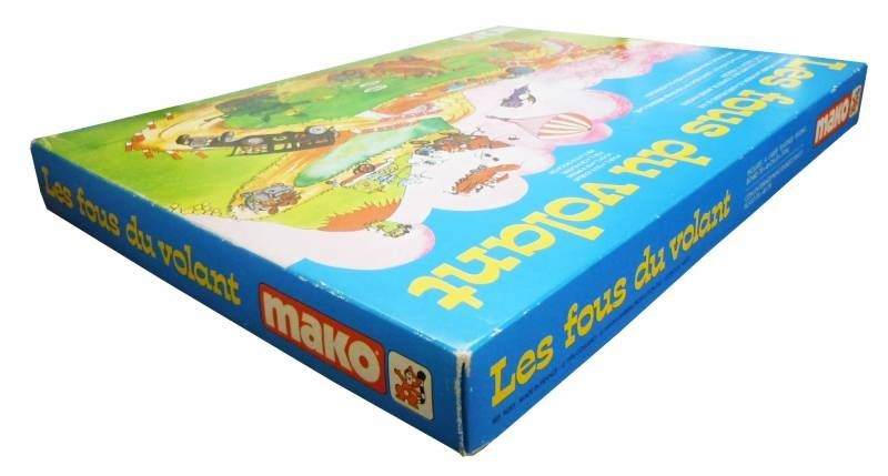 Wacky Races - Mako 1976 - Board Game