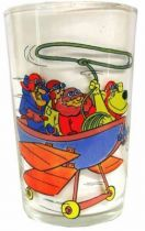 Wacky Races - Mustard Glass - Dastardly and Muttley in Their Flying Machines