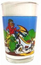 Wacky Races - Mustard Glass - Dastardly and Muttley