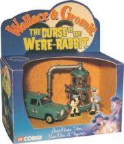 Wallace & Gromit - Anti-presto Van, Bun-vac & figures - Corgi
