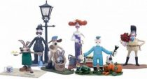 Wallace & Gromit - McFarlane Toys - Set of 6 action figures