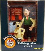 Wallace & Gromit - Talking Alarm Clock - Wesco