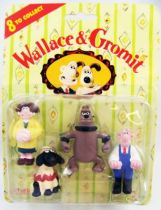 Wallace & Gromit - Vivid - Set de 4 figurines PVC 01