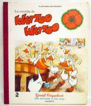 Watto Watto - Livre Hachette Gentil Coquelicot - La corrida de Watto Watto