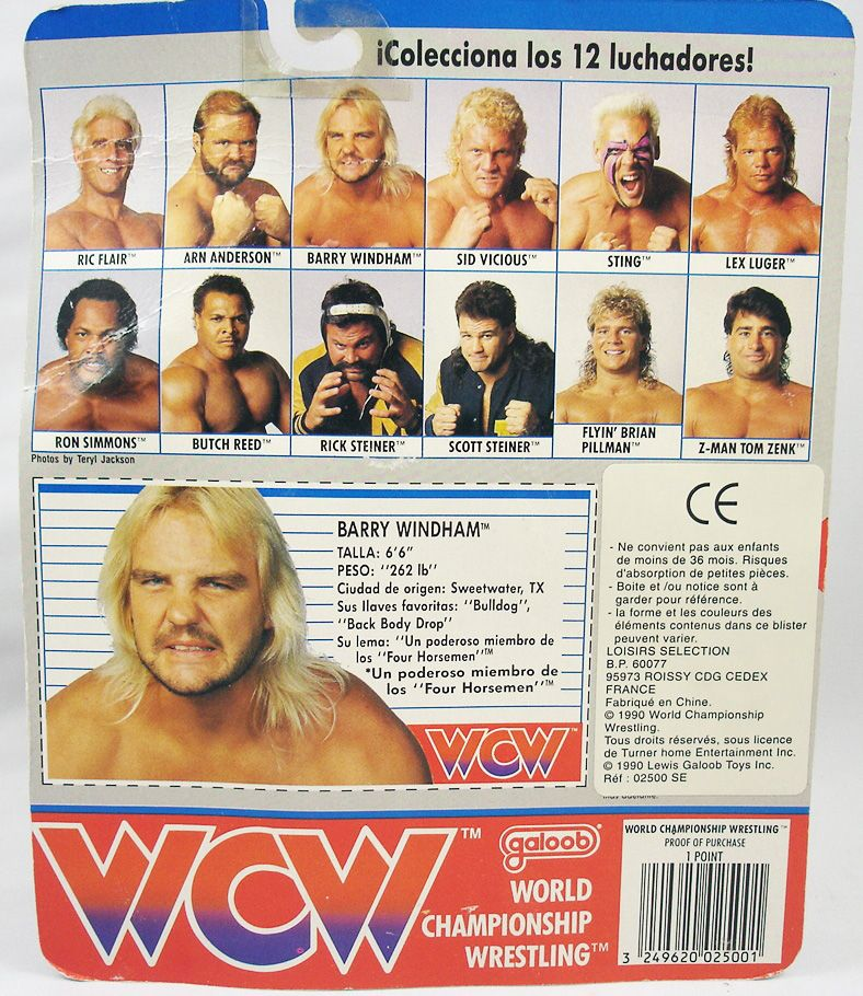WCW Galoob - Barry Windham (1)