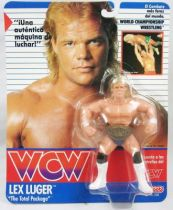 WCW Galoob - Lex Luger The Total Package (carte Espagne)
