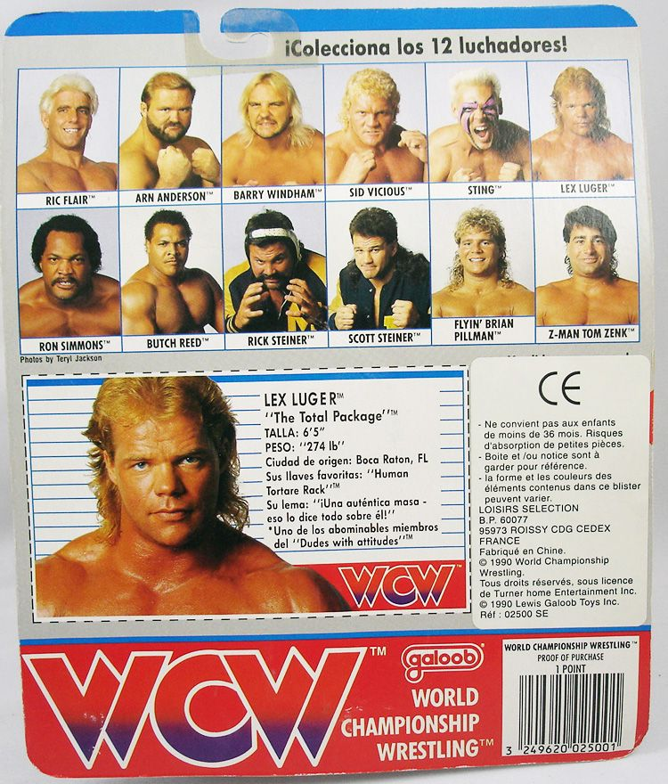 WCW Galoob - Lex Luger The Total Package (1)
