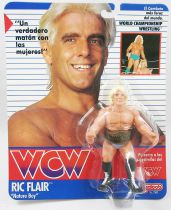 "WCW Galoob - Ric Flair ""Nature Boy\"" (Spain card)"