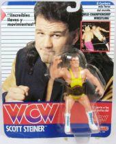 WCW Galoob - Scott Steiner (carte Espagne)