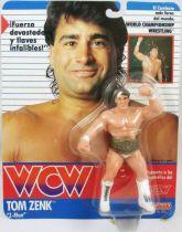 WCW Galoob - Tom Zenk Z-Man (carte Espagne)