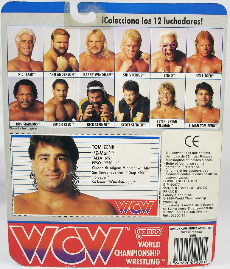 WCW Galoob - Tom Zenk Z-Man (1)