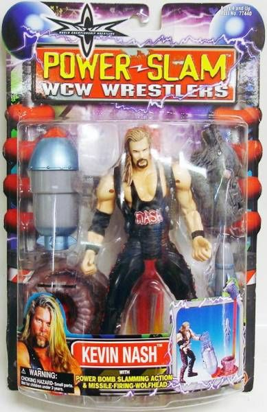 WCW Toybiz - Kevin Nash (Power Slam)