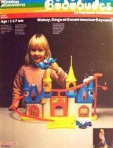 Weebles Play-set Magic Kingdom (loose with box)