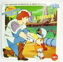 Weeled Warriors - Mini-LP Book-Record - The Evasion - Saban Records 1985