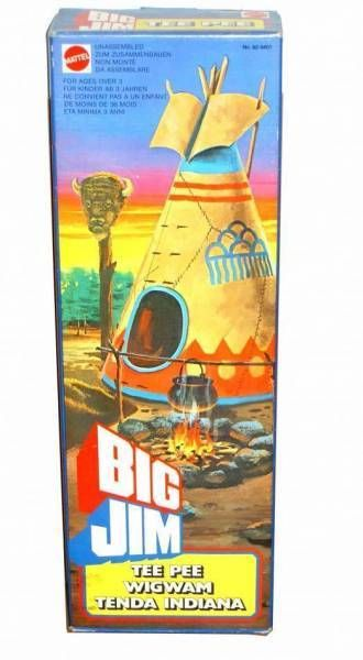 Western series -  Mint in box Tee Pee Wigwam (ref.92 9401)