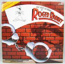 Qui veut la peau de Roger Rabbit - Livre-Disque 33t - Buena Vista Records1988 01