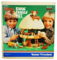Wicket the Ewok - Kenner Preschool 1985 - Ewok Family Hut (loose in box)